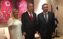 בנימין נתניהו ושגריר מצרים בישראל