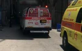זירת התאונה הקטלנית בתל אביב