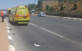 תאונת דרכים בצומת אחיהוד