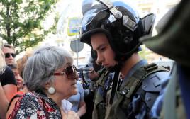 עימותים בין מפגינים לשוטרים במוסקבה