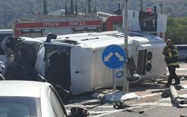 תאונת דרכים בצומת התשבי