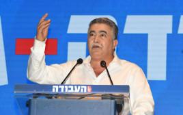 עמיר פרץ בוועידת מפלגת העבודה