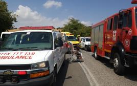 תאונת דרכים בכביש 888