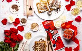 ארוחה רומנטית במקס ברנר