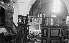 """בית הכנסת שנהרס בחברון במאורעות תרפ""""ט"""