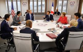 דונלד טראמפ, עמנואל מקרון, פסגת ה-G-7