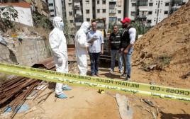 """זירת התרסקות המל""""טים בלבנון"""