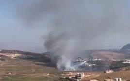 חילופי אש בגבול לבנון