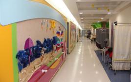 """כיתות הלימוד של בית הספר שחר אשר נמצא בבי""""ח אלין לשיקום ילדים ונוער"""