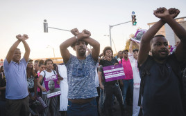 מחאת יוצאי אתיופיה בירושלים, ארכיון (למצולמים אין קשר לנאמר בכתבה)