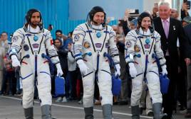 ג'סיקה מאיר, אולג סקריפוצ'קה, הזאע אל-מנסורי מתכוננים לשיגור