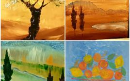 """ציורי דיירי בית האבות """"אור העמק"""""""