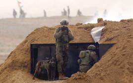חיילים בגבול עזה