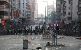 ההפגנות בהונג קונג