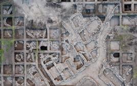 אתר החפירות סמוך לחריש