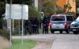 פיגוע ירי סמוך לבית כנסת בגרמניה