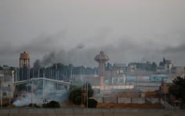 כוחות של צבא טורקיה בגבול עם סוריה