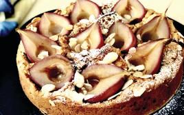 עוגת אגסים