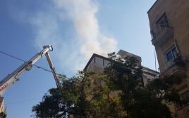 השריפה ברחוב בן יהודה בירושלים