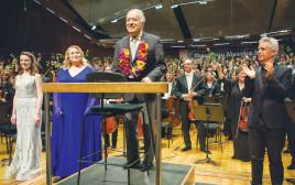 זובין מהטה בקונצרט האחרון עם התזמורת הפילהרמונית הישראלית