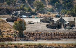 """כוחות ארטילריה של צה""""ל ברמת הגולן"""