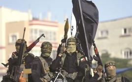 פעילי הג'יהאד האסלאמי בעזה