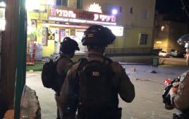 כוחות משטרה בזירה בטורעאן