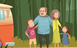 משפחה בטיול