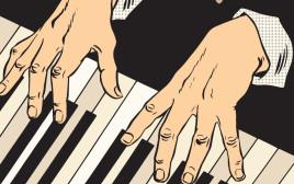 פסנתר, אילוסטרציה