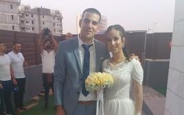בני הזוג שחתונתם הועברה לנתיבות