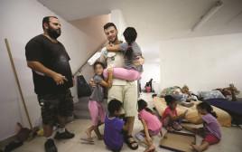 ילדים במקלט באשקלון