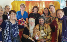 מסיבת חינה במרכז לאוכלוסיה הבוגרת