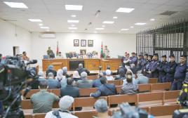 """ביהמ""""ש לענייני ביטחון בעמאן במהלך הדיון בעניין המסתנן הישראלי"""