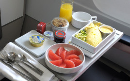 אוכל של מטוסים