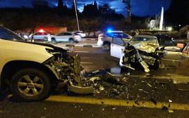 תאונת הדרכים הקטלנית ליד צומת בית עובד