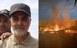 הפיצוץ בבגדד, קאסם סולימאני