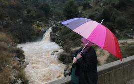 גשם במפל סער