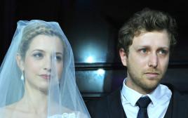 ליאור ורוני דיין ביום חתונתם