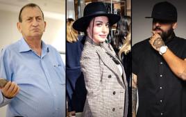 """יואב אליאסי (""""הצל""""), מאיה בוסקילה, רון חולדאי"""