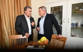ניצן הורוביץ ועמיר פרץ
