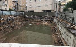 סכנת קריסה בבניין בבת ים