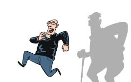 קופמן בורח מהצל של עצמו