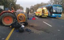 תאונה בכביש 293