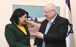 ראובן ריבלין, נשיאת גאורגיה