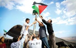 דגל פלסטין, בקעת הירדן