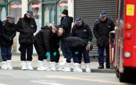 זירת הפיגוע בלונדון
