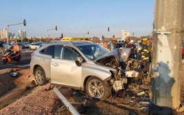 תאונת דרכים קטלנית בשרון