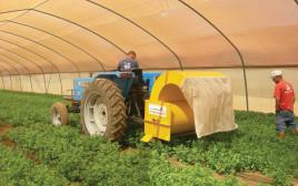 מכונה לשאיבת חרקים מזיקים