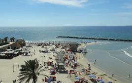 חוף הים של נתניה