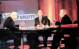 העימות בין בנימין נתניהו לאיציק מרדכי בבחירות 1999